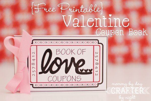 Holiday Craft: Valentine's Day Coupon Book