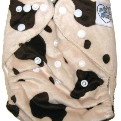 Caramilk One Size Bamboo Cloth Diaper