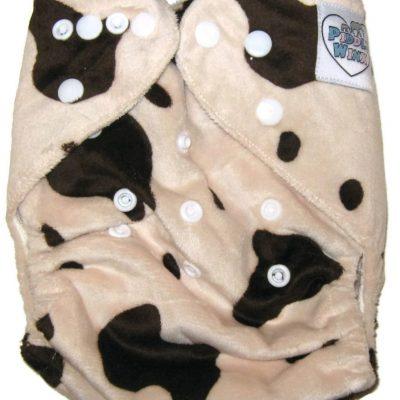 Caramilk One Size Bamboo Cloth Diaper
