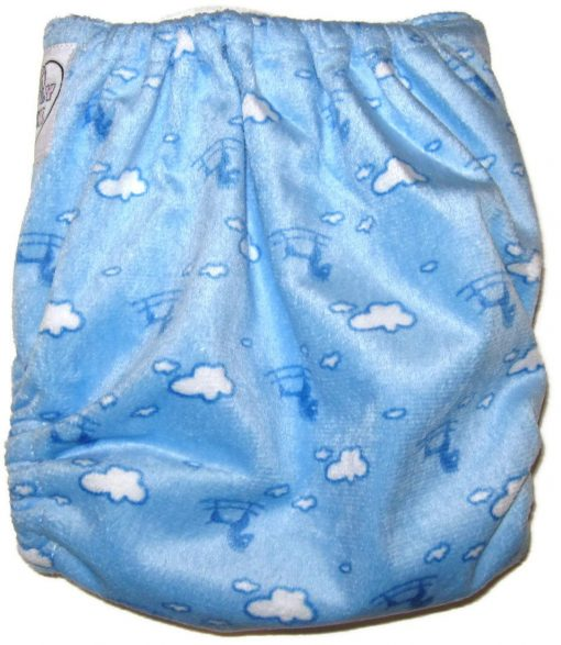 Flying Horses One Size Bamboo Cloth Diaper