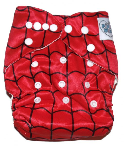 Webbed Winx One Size Bamboo Cloth Diaper