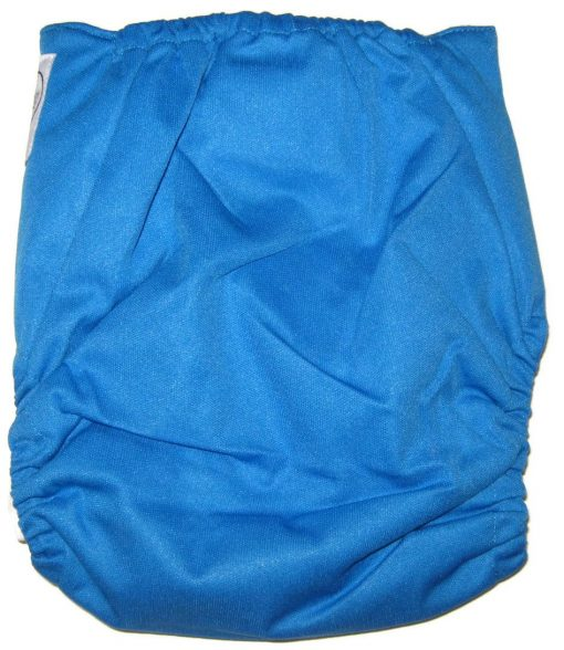 Cool Blue One Size Bamboo Cloth Diaper