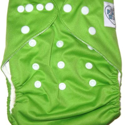 is an one-size bamboo cloth diaper, and includes a 5-layer hemp bamboo insert; comfortably protects babies 6 lbs through until 37 lbs.