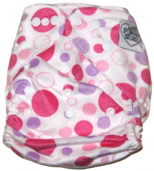 Bubblelicious Polyester Cloth Diaper