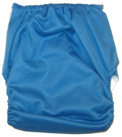 Cool Blue Polyester Cloth Diaper