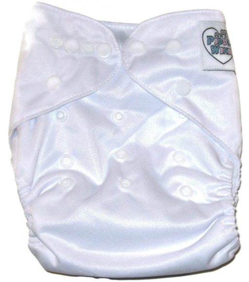 Coconut White Polyester Cloth Diaper