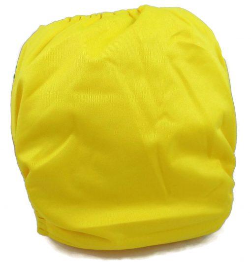 Lemon Yellow Polyester Pocket Cloth Diaper