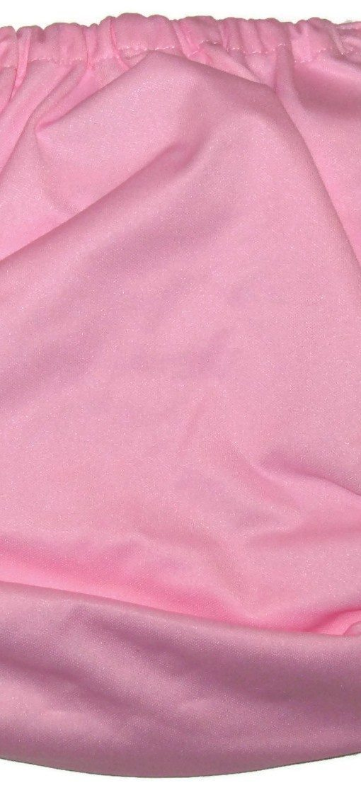 Cotton Candy Pink Polyester Cloth Diaper