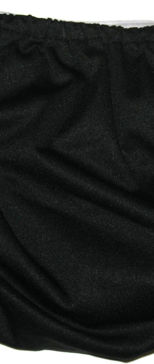 Black Licorice Polyester Cloth Diaper