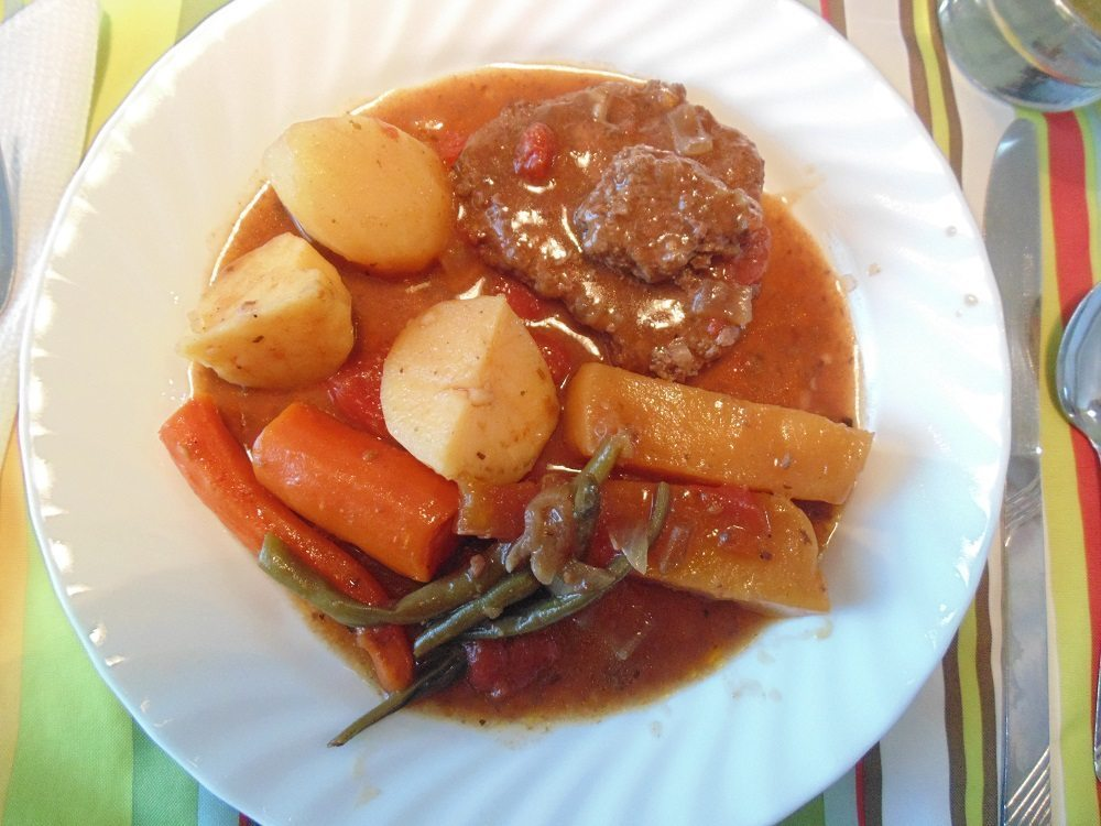 Swiss Steak Slow Cooker