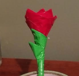 DIY – Valentine's Day Duct Tape Rose