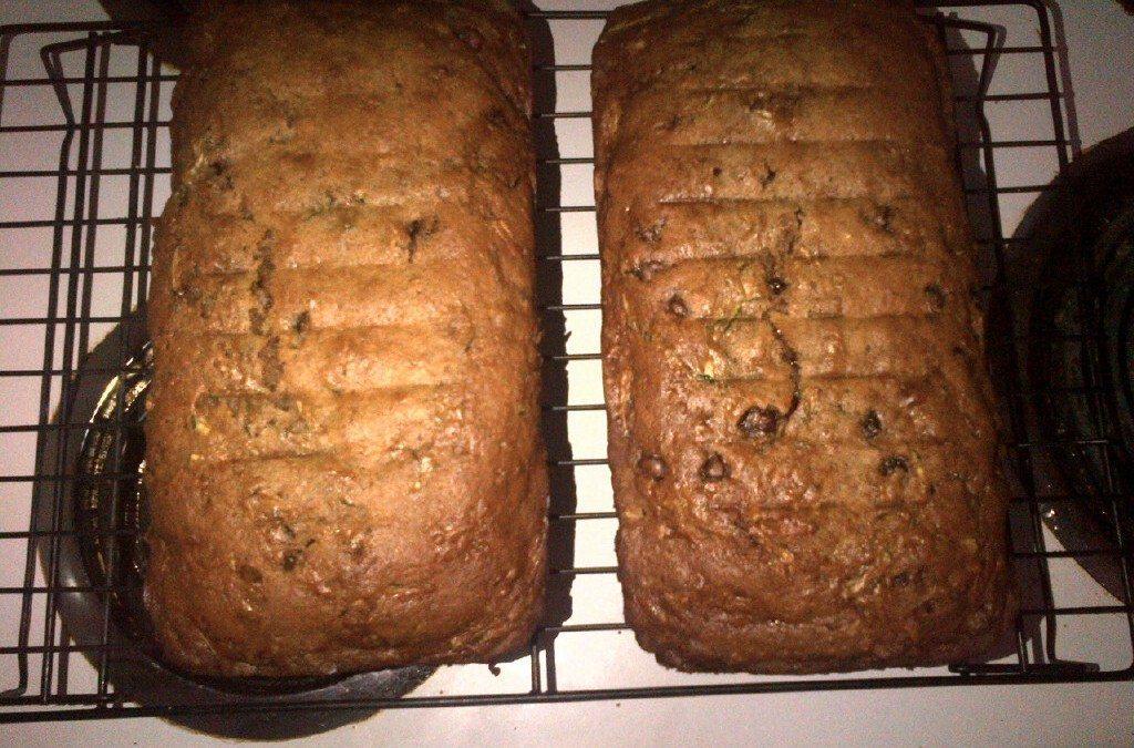 RECIPE – Yummy, Healthy (ish) Zucchini Bread