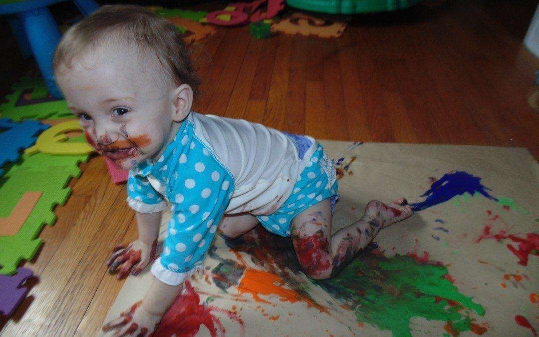 Peyton's Pastimes: Episode #5 – Painting with Peyton