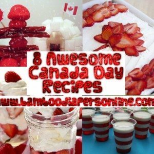Awesome Canada Day Recipes Piddly Winx