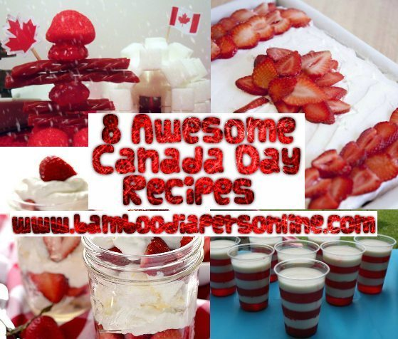 DIY – 8 Awesome Canada Day Snacks and Recipes