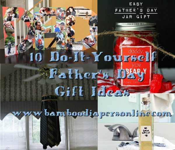 DIY – 10 Easy Last-Minute Father's Day Craft Ideas