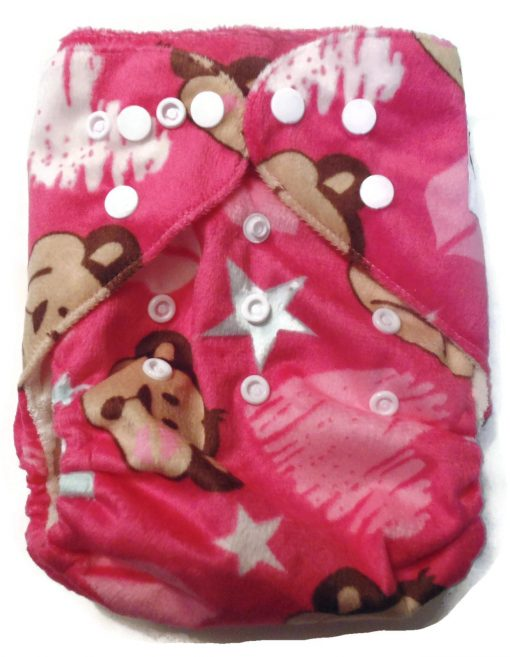 Monkeying Around One Size Bamboo Cloth Diaper