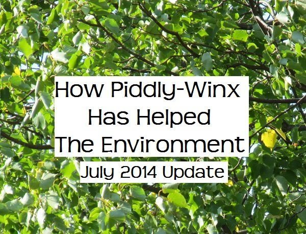 How Has Piddly-Winx Helped the Environment – July 2014 Update