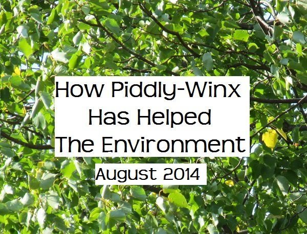 How Has Piddly-Winx Helped the Environment – August 2014 Update