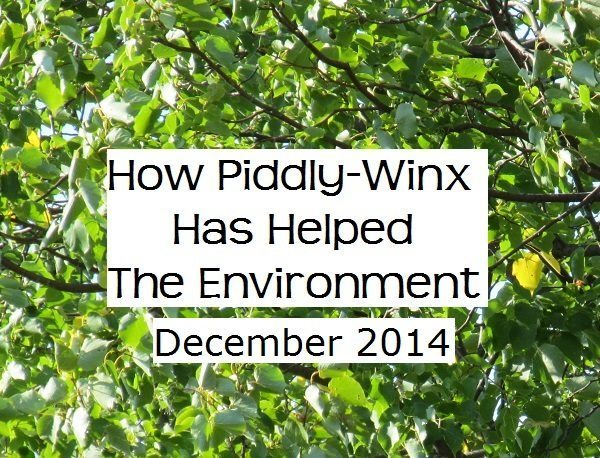 How Has Piddly-Winx Helped the Environment – December 2014 Update