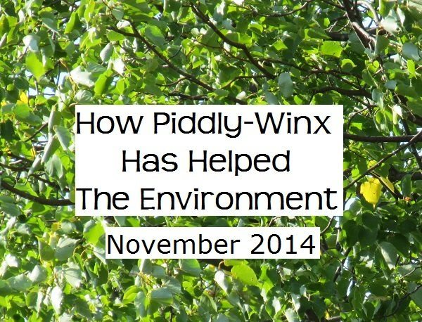 How Has Piddly-Winx Helped the Environment – November 2014 Update