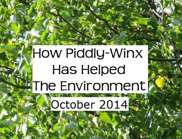 How Has Piddly-Winx Helped the Environment – October 2014 Update