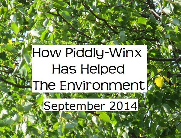 How Has Piddly-Winx Helped the Environment – September 2014 Update