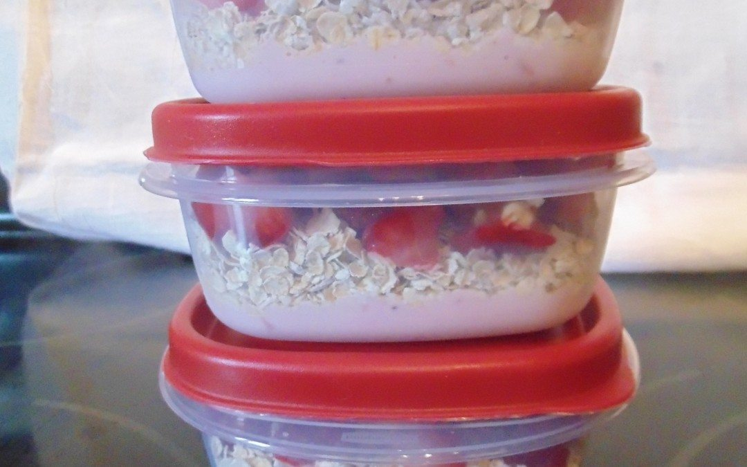 RECIPE – Healthy Yogurt Snack (Valentine's Day!)