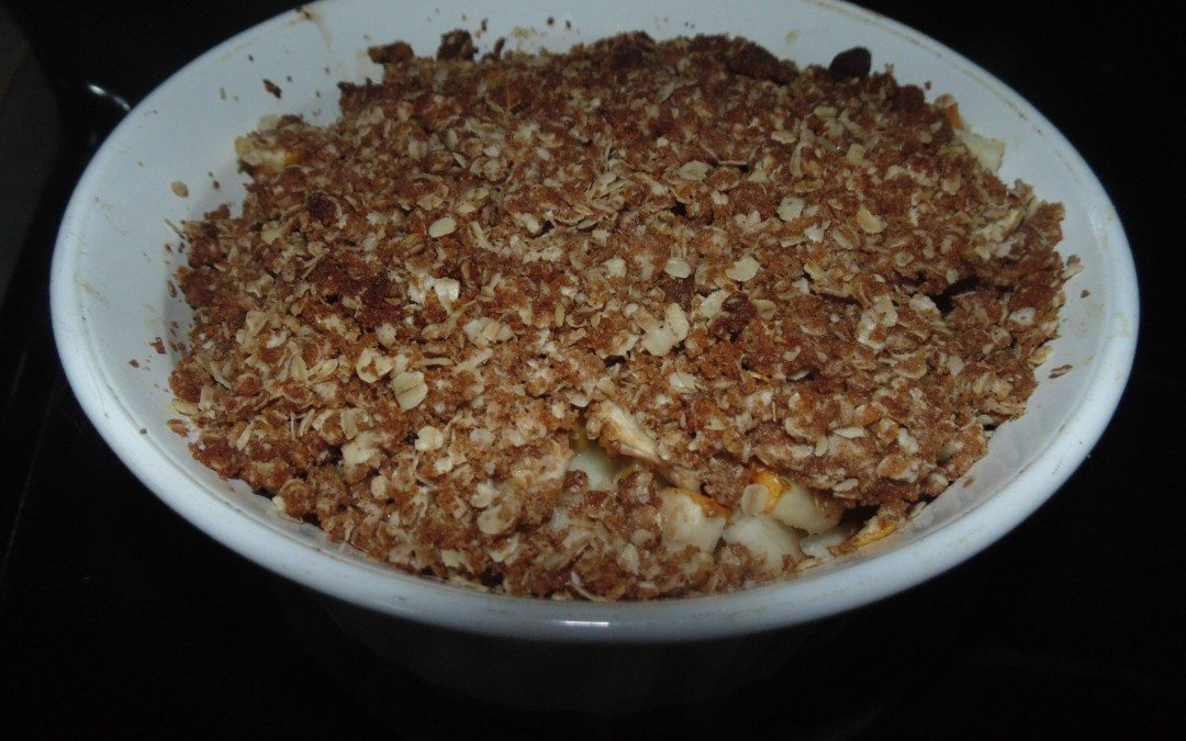 RECIPE – Healthy Apple and Pear Crisp