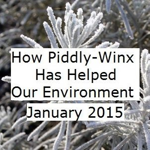 How Has Piddly-Winx Helped the Environment – January 2015 Update