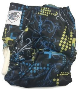 Windy City Bamboo One-Size Pocket Cloth Diaper