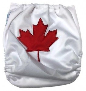 Piddly-Winx Canadian Babe One Size Pocket Cloth Diaper