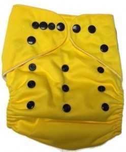 Piddly-Winx Toxic Waste One Size Pocket Cloth Diaper