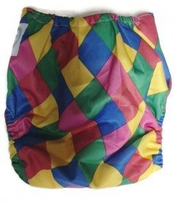 Mom's Lil Jokester Bamboo Cloth Diaper Piddly-Winx