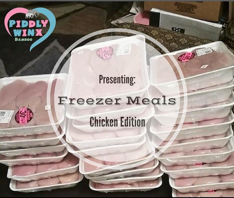 Freezer Meals Chicken Edition –  Chicken Sale and Introduction