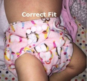 Wearing Diaper Correctly - not Leaking