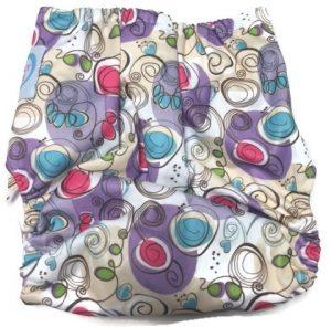 Petite Artiste Polyester Cloth Diaper Back