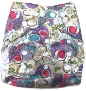 Petite Artiste Polyester Cloth Diaper Front