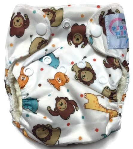 Baby Kingdom Newborn Bamboo Cloth Diaper