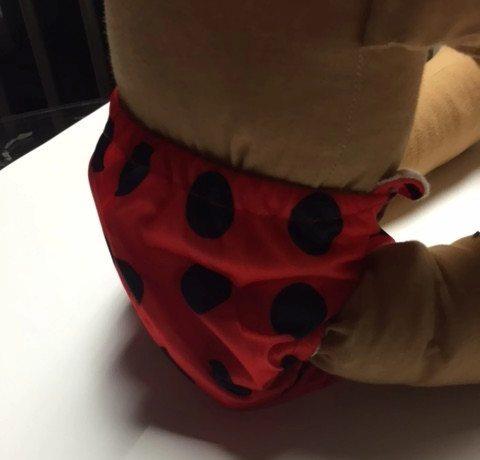 Snug Bug Newborn Bamboo Cloth Diaper