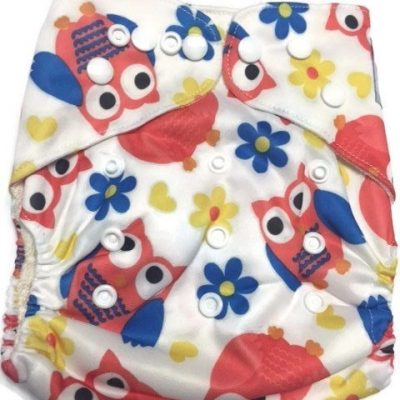 The Hooo's Bamboo One-Size Pocket Cloth Diaper
