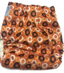 Spooky O's Bamboo One-Size Pocket Cloth Diaper