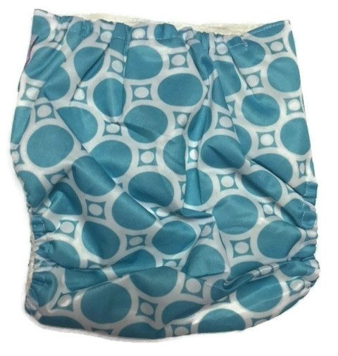 Blueberries Bamboo One-Size Pocket Cloth Diaper