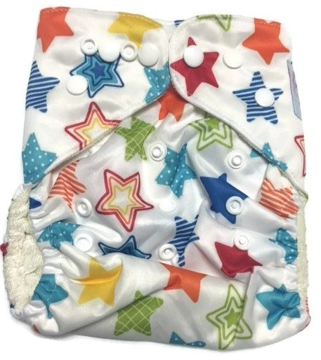 Twinkle Twinkle Bamboo One-Size Pocket Cloth Diaper