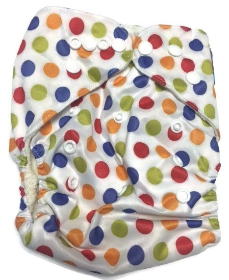 Twister Bamboo One-Size Pocket Cloth Diaper