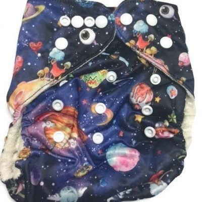 Planetarium Bamboo One-Size Pocket Cloth Diaper