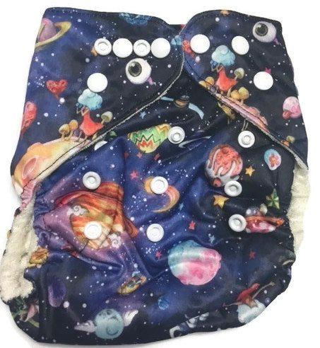 Planetarium Bamboo One-Size Pocket Cloth Diaper