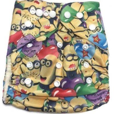Gru's Crew Bamboo One-Size Pocket Cloth Diaper