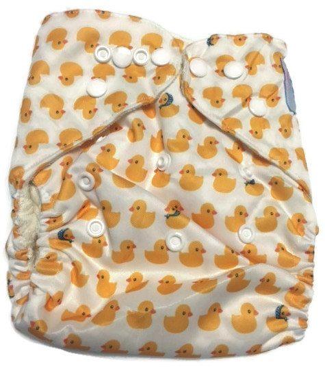 Rub A Dub Bamboo One-Size Pocket Cloth Diaper