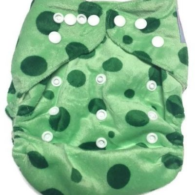 Tree Frog Bamboo One-Size Pocket Cloth Diaper